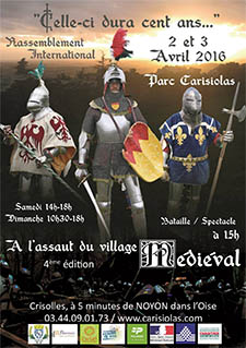 Reconstitution Medievale a Crisolles